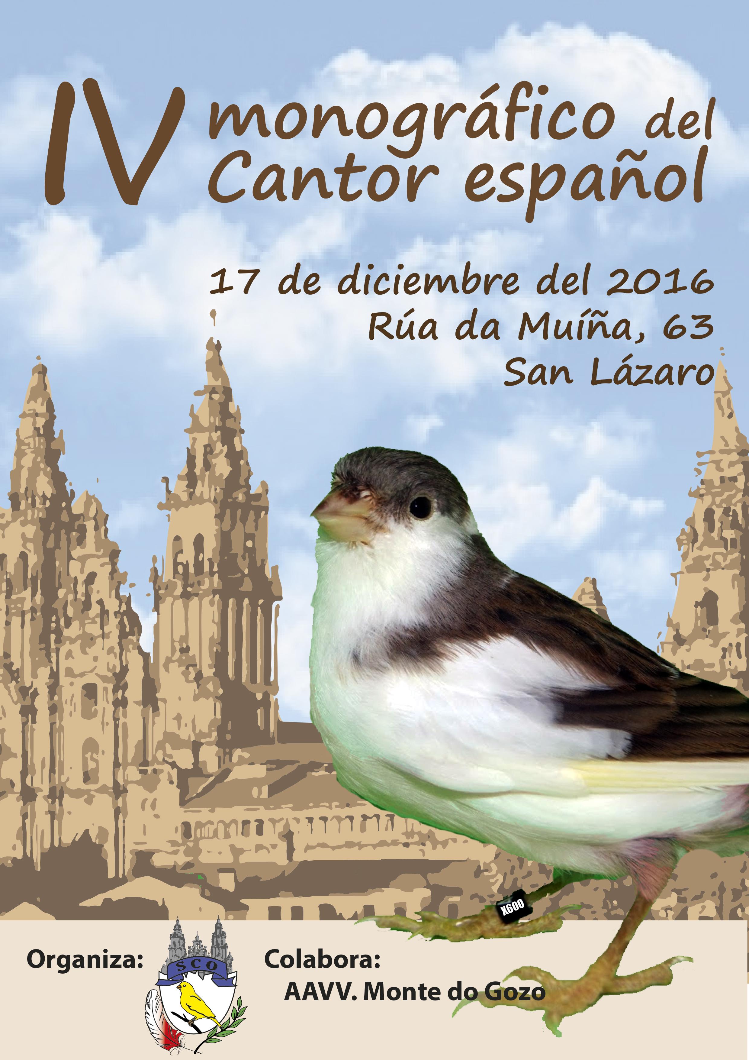 Monográfico del Cantor Español – Sociedad Cultural y Deportiva Compostelana
